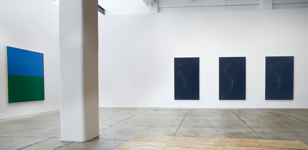"Installation view, ""Fwd: The Telephone Game"", Galerie Lelong, New York, New York 2014"