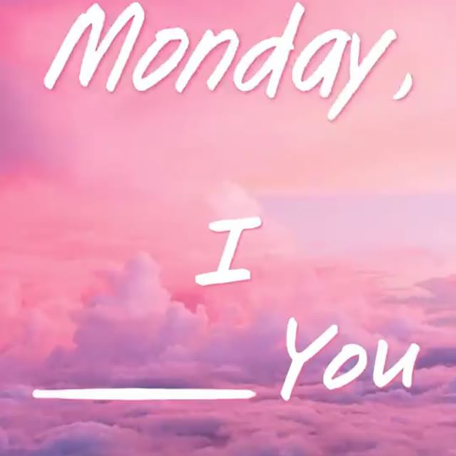 Tell us what you think about #mondays