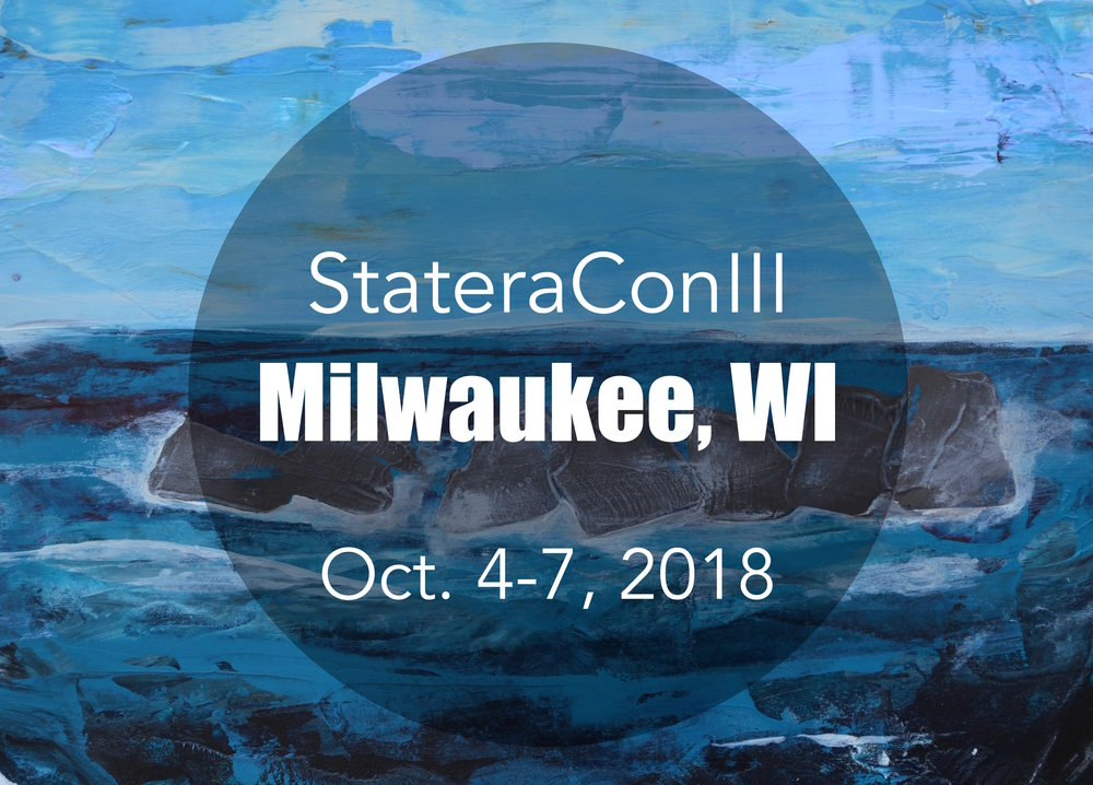 Early bird registration for StateraConIII begins on January 1, 2018.