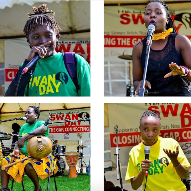 Performers at SWAN Day Kenya 2018