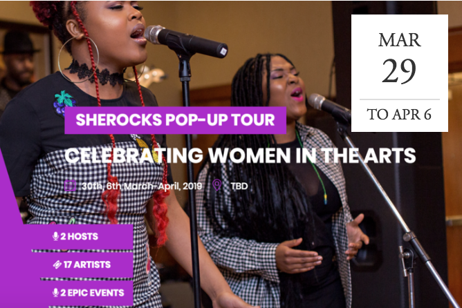 SheRocks Pop-Up Tour - NYC & DC