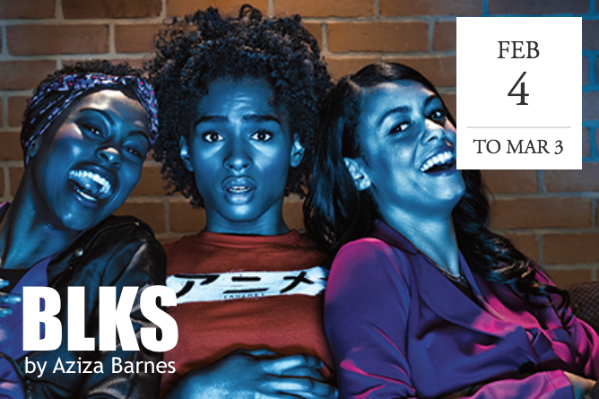 """BLKS"" at Wooly Mammoth Theatre -  Washington D.C."