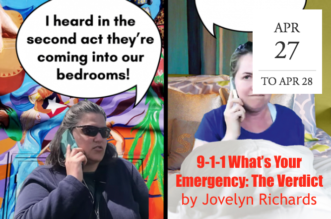 """9-1-1 What's Your Emergency: The Verdict"" by Jovelyn Richards -  Berkeley, CA"