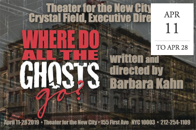 """Where Do All The Ghosts Go? by Barbara Kahn -  NYC"
