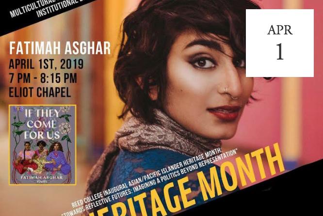 APIHeritage Month: Fatimah Asghar -  Portland, OR