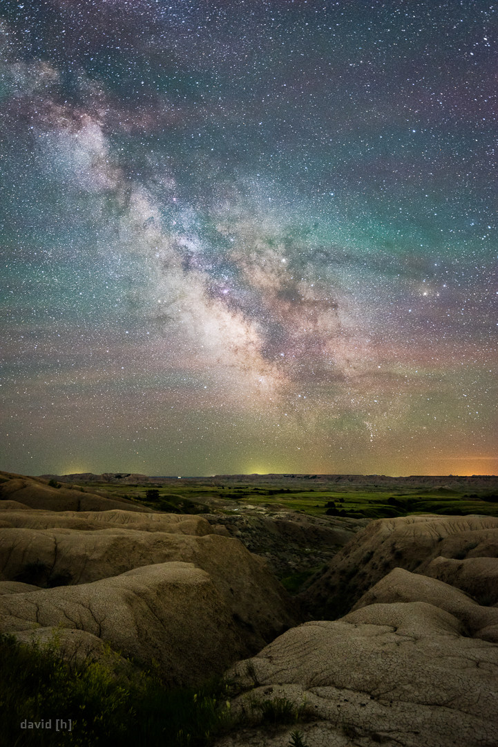 Conditions for Milky Way images were pristine during our time in Badlands - so we made the best of it!