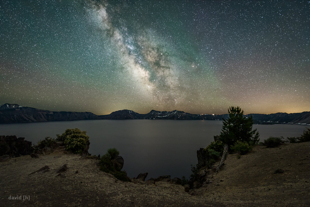 The Milky Way over Crater Lake - some of the clearest and darkest skies I've ever seen!