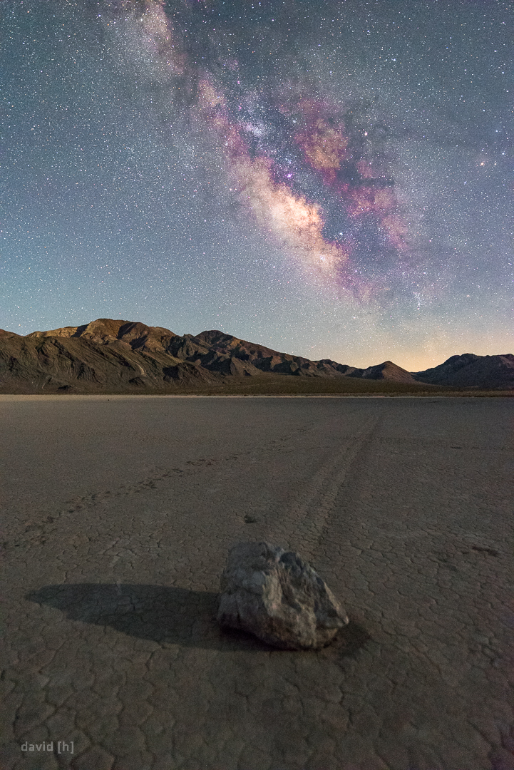 The mysterious Sailing Stones at the Racetrack Playa have been on my to-shoot-list for quite a while!