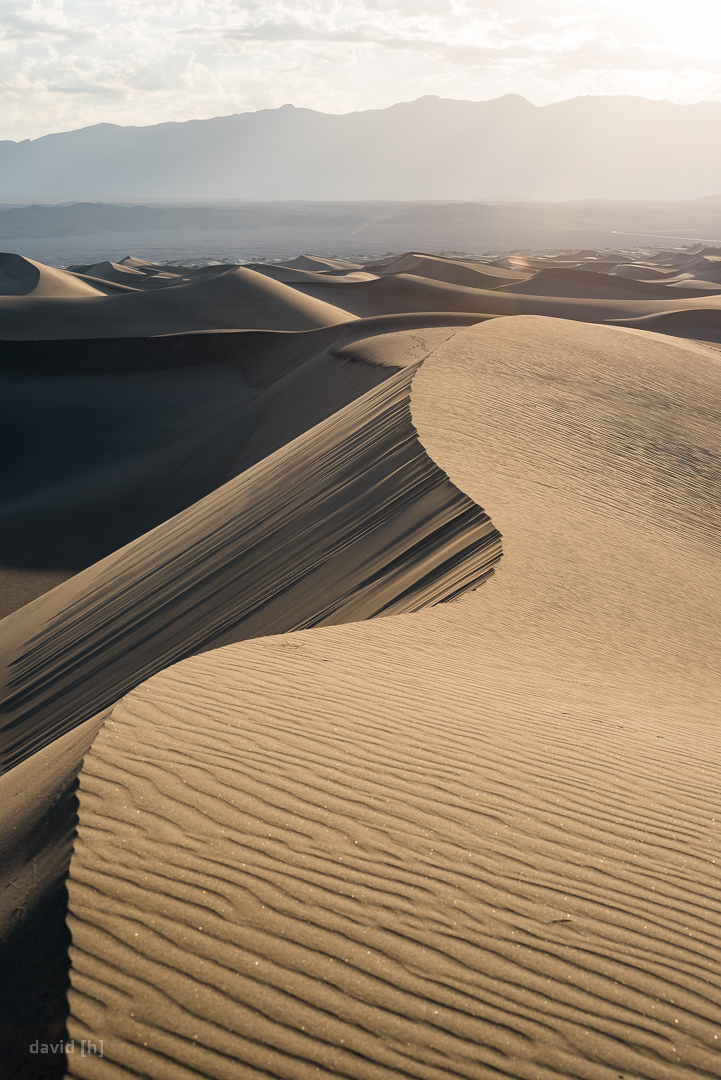 Getting up early to scramble over some dunes was a lot of fun and even paid off in terms of photography!
