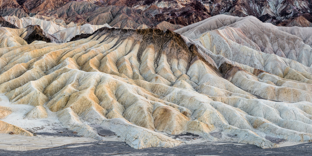 The view from Zabriskie Point is something else - stunning rock formations whereever you look.