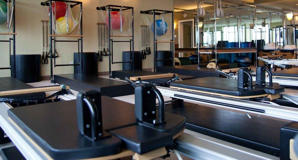 Toronto reformer based Pilates Studio