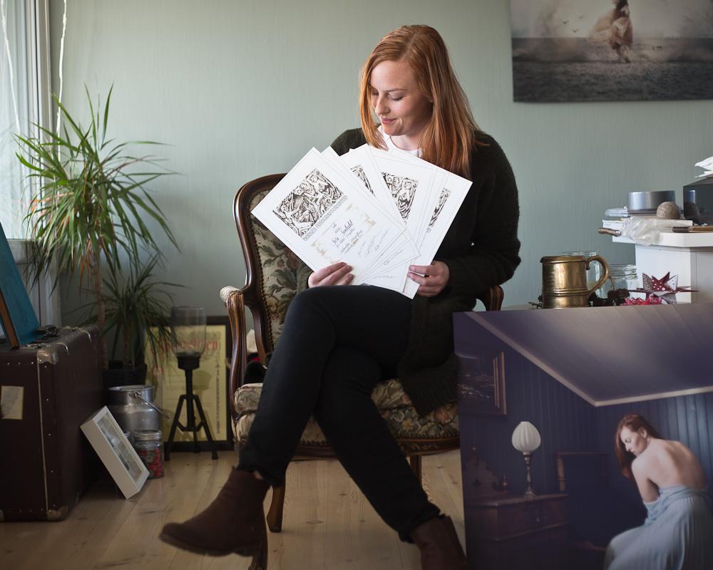 diplomer for laugs konkurransen i fotografi sørlandet