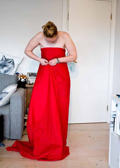 lage midje på kjolen