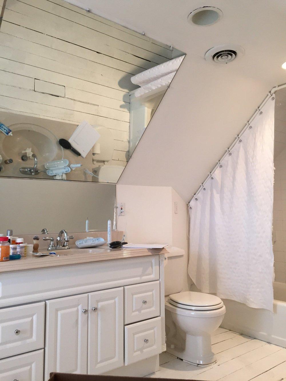 Attic Bathroom - Before