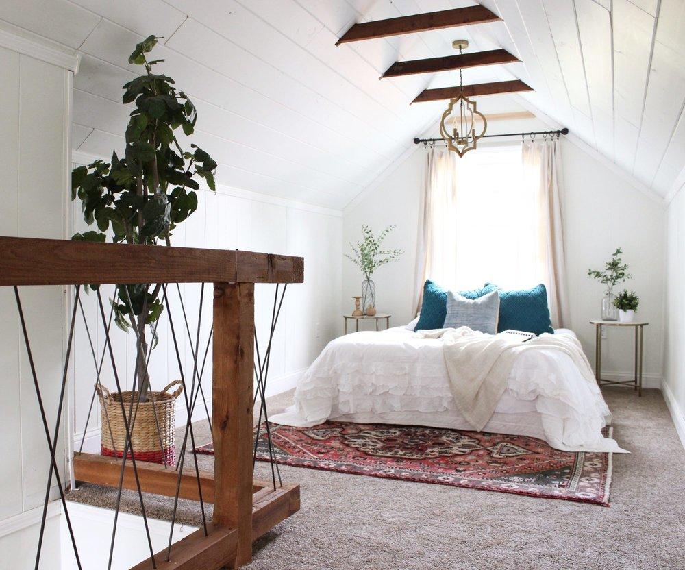 Attic Bedroom - After