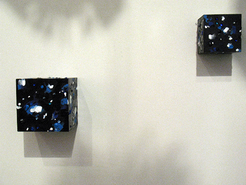 Dark Matter Cubes from Space 2010