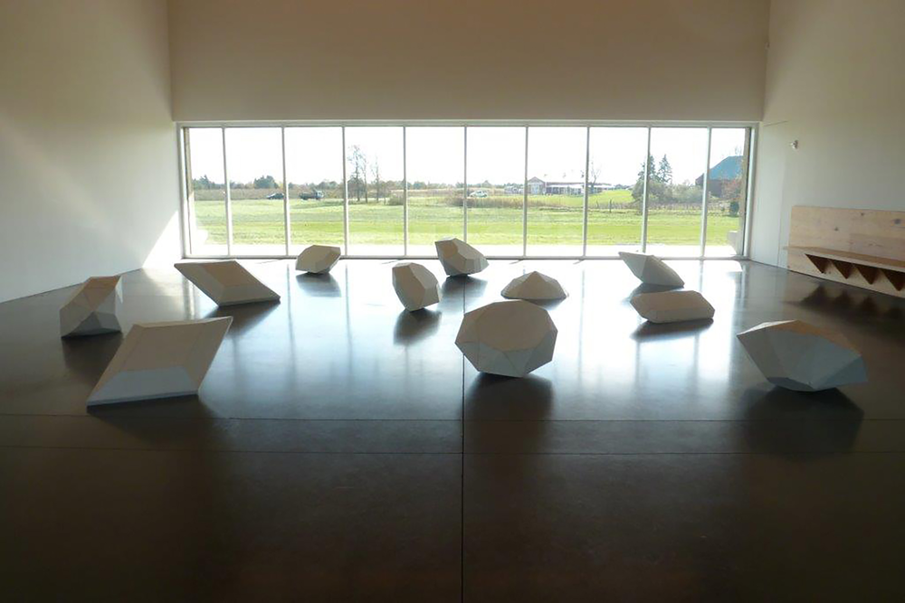Ghost Gems Installation-Parrish Museum, Southampton New York
