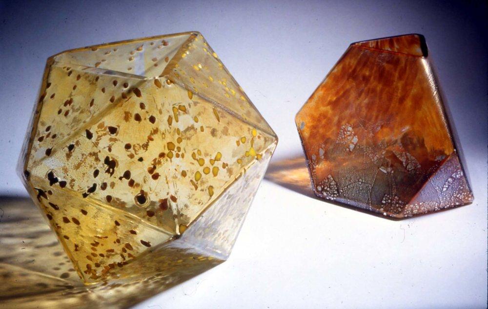 Glass Vases- gold & rust.jpg