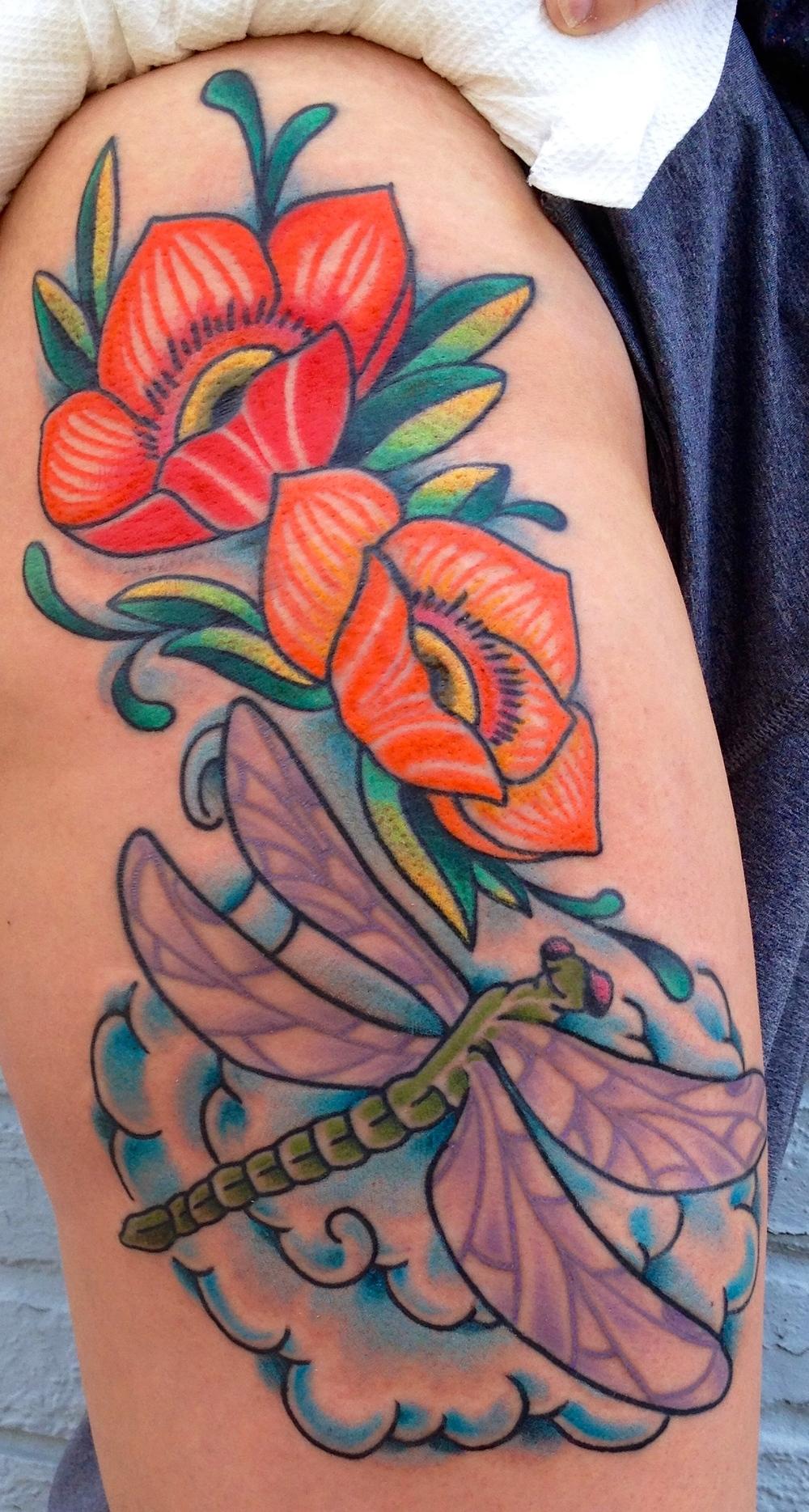 Jae portfolio electric lotus tattoo beautiful flower tattoos bright color tattooingnbspelectric lotus tattoo fort greene brooklyn izmirmasajfo