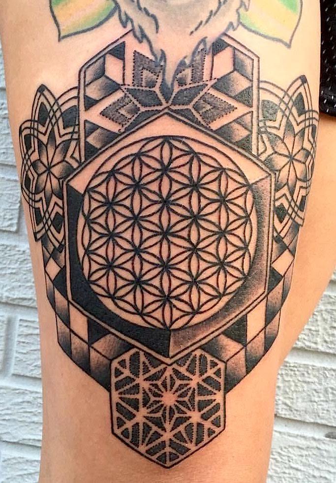 Jae Portfolio Electric Lotus Tattoo