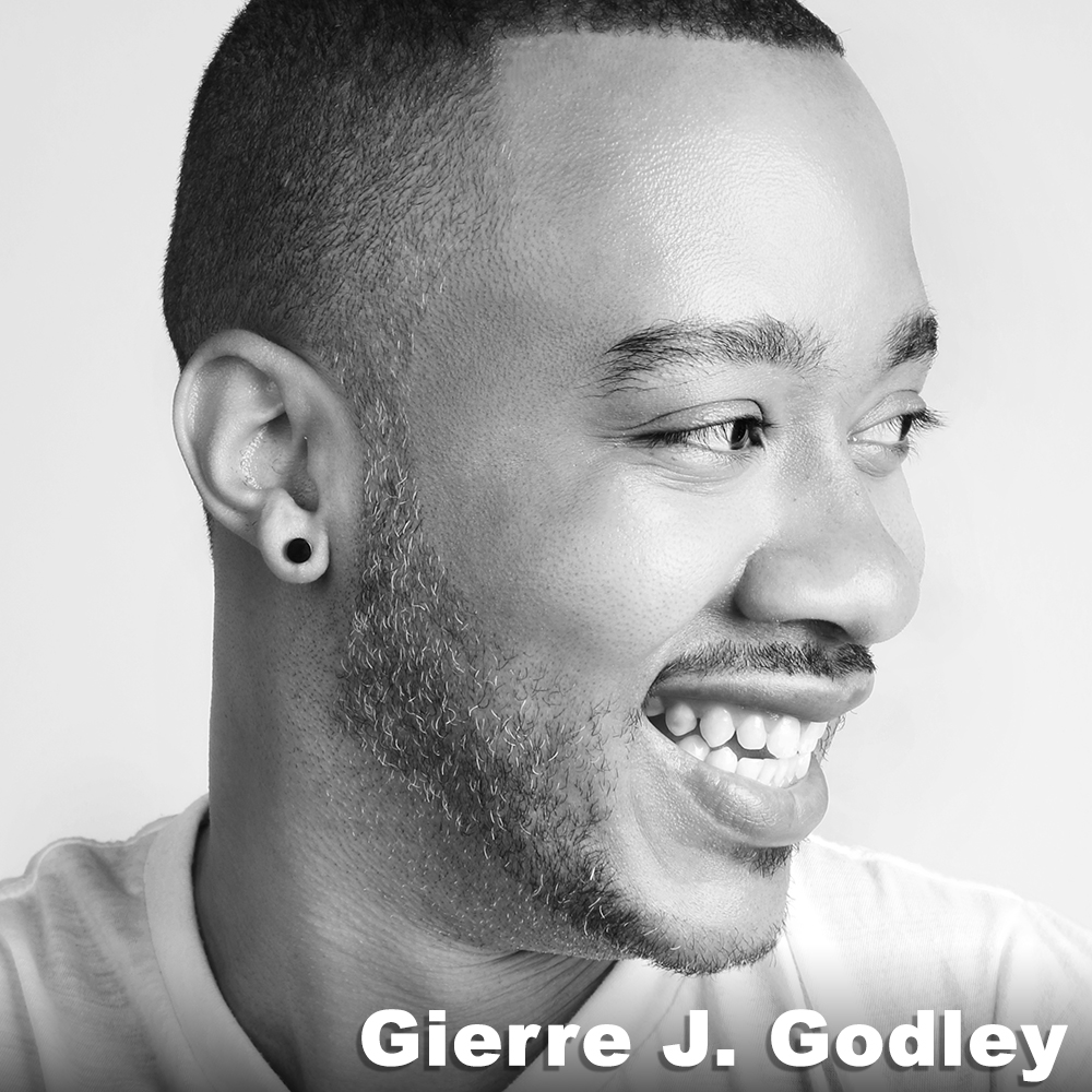 Gierre J. Godley  (Performer) began his training in Arkansas under the direction of C. Michael Tidwell and Arleen Sugano and later attended Millikin University (BS in Biology) and NYU's Tisch School of the Arts (MFA). Gierre has worked with many choreographers while in NYC, most recently Matthew Westerby and Stefanie Nelson. He has been on faculty at the Debbie Allen Dance Academy, Fancy Feet Dance Studio, Summer Dance Lab and is currently a Adjunct Professor at the College of Mount Saint Vincent in Riverdale. In 2010, Gierre created PROJECT 44, an all male troupe dedicated to showcasing the beauty of male artistry throughout the arts. The group has been performing in various national and international venues since 2010.  www.project44dance.org