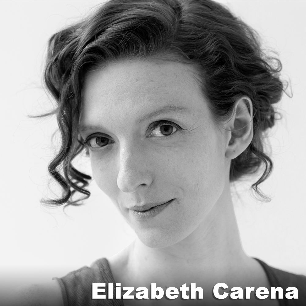 Elizabeth Carena  (Original  Hatter ) has collaborated on and performed in more than a dozen productions with Third Rail Projects, including  Pizza Queen, Roadside Attraction , and  The Grand Paradise . She has also served as the company's Managing Director since 2007. She is a founding member of the NYC rock band  Mother Feather  (now on Metal Blade Records), has modeled for VPL and various NYC photographers, and holds a BA in Theater from Fordham University's College at Lincoln Center.  www.elizabethcarena.com