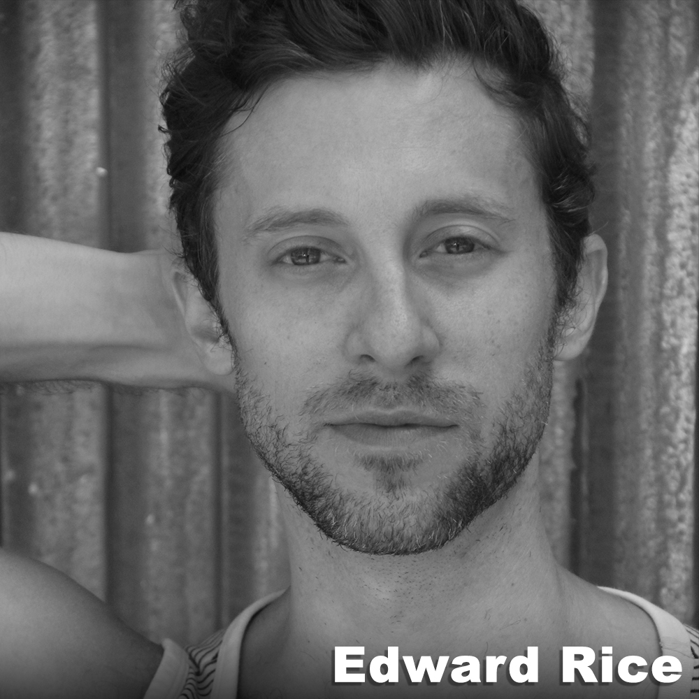 Edward Rice  (Performer/Business Manager) has worked with Third Rail Projects since 2012 on a number of projects including  Then She Fell  (performer),  The Grand Paradise  (performer, directing team),  Learning Curve  (directing team),  Ghost Light  (performer),  Medicine Show  (performer),  Behind The City  (producer), and is the company's Business Manager. He has performed professionally since 2007 (Brian Brooks Moving Company, Jody Oberfelder Dance Projects, Laura Peterson Choreography, Elephant Jane Dance, Alexandra Beller/Dances, Punchdrunk's  Sleep No More , NYC, among others). He has taught dance and performance both nationally & internationally and offers workshops through Third Rail Projects. He holds a B.S. and an M.F.A in Dance Performance from Illinois State University and the University of Iowa, respectively.
