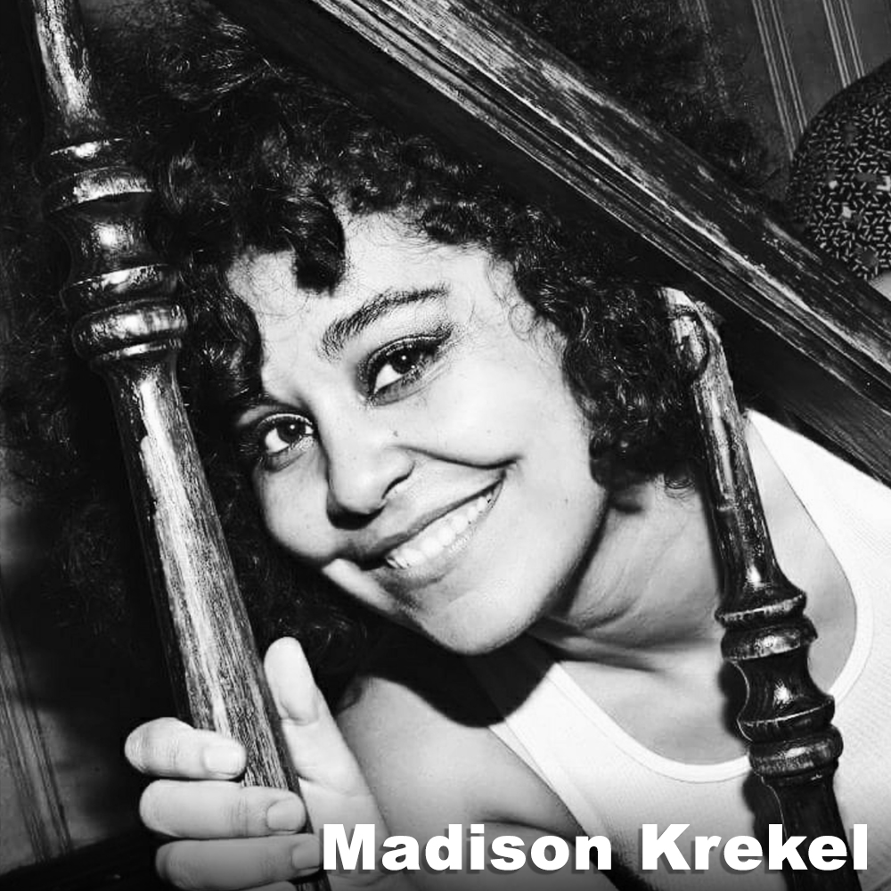 Madison Krekel  (Performer) is a Brooklyn-based, multidisciplinary artist and performer, originally from Oakland, CA. She has had the honor of performing Bessie Award-winning work by John Bernd with Ishmael Houston-Jones and Miguel Gutierrez, with Katy Pyle's Ballez, Young Jean Lee's Theater Company, and with Third Rail Projects' Bessie Award-winning show,  Then She Fell ,  The Grand Paradise, and Behind The City,  among others. When not performing downtown, she can be found blissed out in Coney Island and rockin' around NYC with her four-piece punk outfit, SNATCH ATTACK. Visit us at  www.snatchattacknyc.com