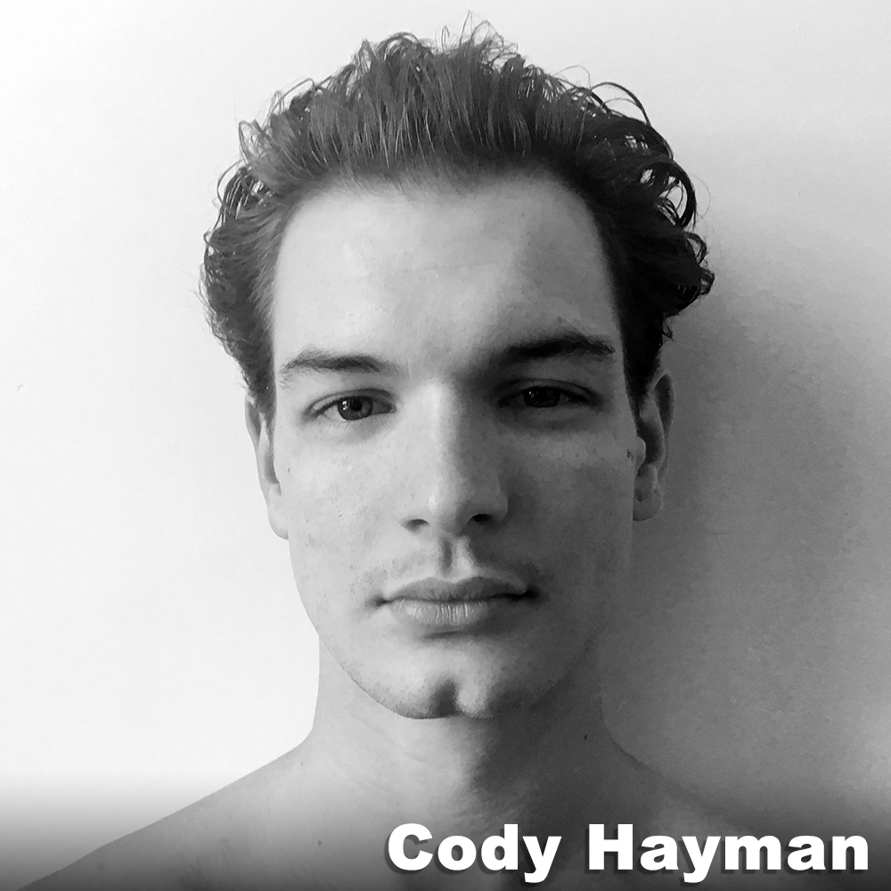 Cody Hayman  (Performer) was born and raised in North Carolina and holds a BFA in Dance from SUNY Purchase where he had the pleasure to perform the works of Laura Aris Alvarez, Nelly van Bommel, Doug Varone, and Kevin Wynn in New York City and internationally. He currently lives in NYC where he collaborates and performs the dance theatre works of Corinne Shearer and Dancers, Keerati Jinakunwiphat, and Damani Pompey.