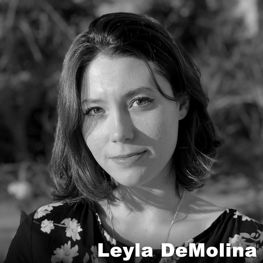 "Leyla DeMolina  (Production Assistant) holds a BA for Honors in Theater Arts and English from Brown University. At university she focused on performance and served on multiple producing boards, including the departmental main stage board for which she served as Literary Chair. Some performance credits include Macbeth (Lady Macbeth), In the Heights (Ensemble), and Noises Off (Belinda). She completed a thesis on feminine death in tragedy entitled ""She Should Have Died Hereafter: The Silent and Symbolic Deaths of Women in Shakespeare"". She has also interned for the SheNYC Summer Theater Festival and has a background in stage management, dance, Viewpoints technique, and voice training."