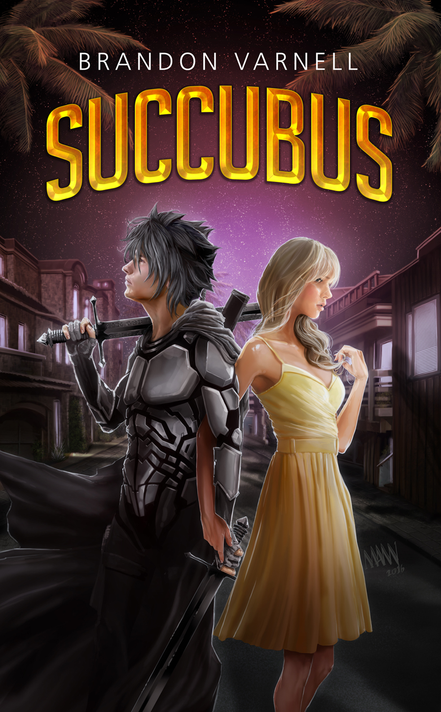 Book Tour & Review - Succubus by @BrandonBVarnell — human  geek