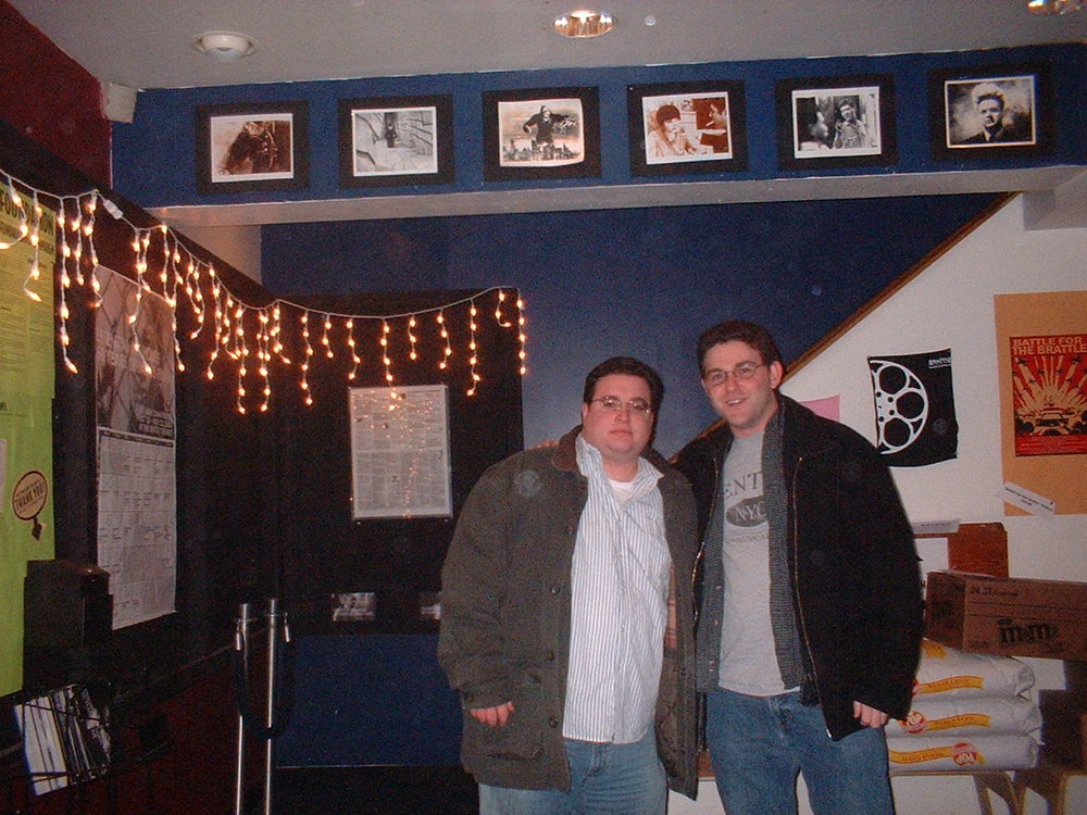 Matthew Nerney and Eric Green in 2006