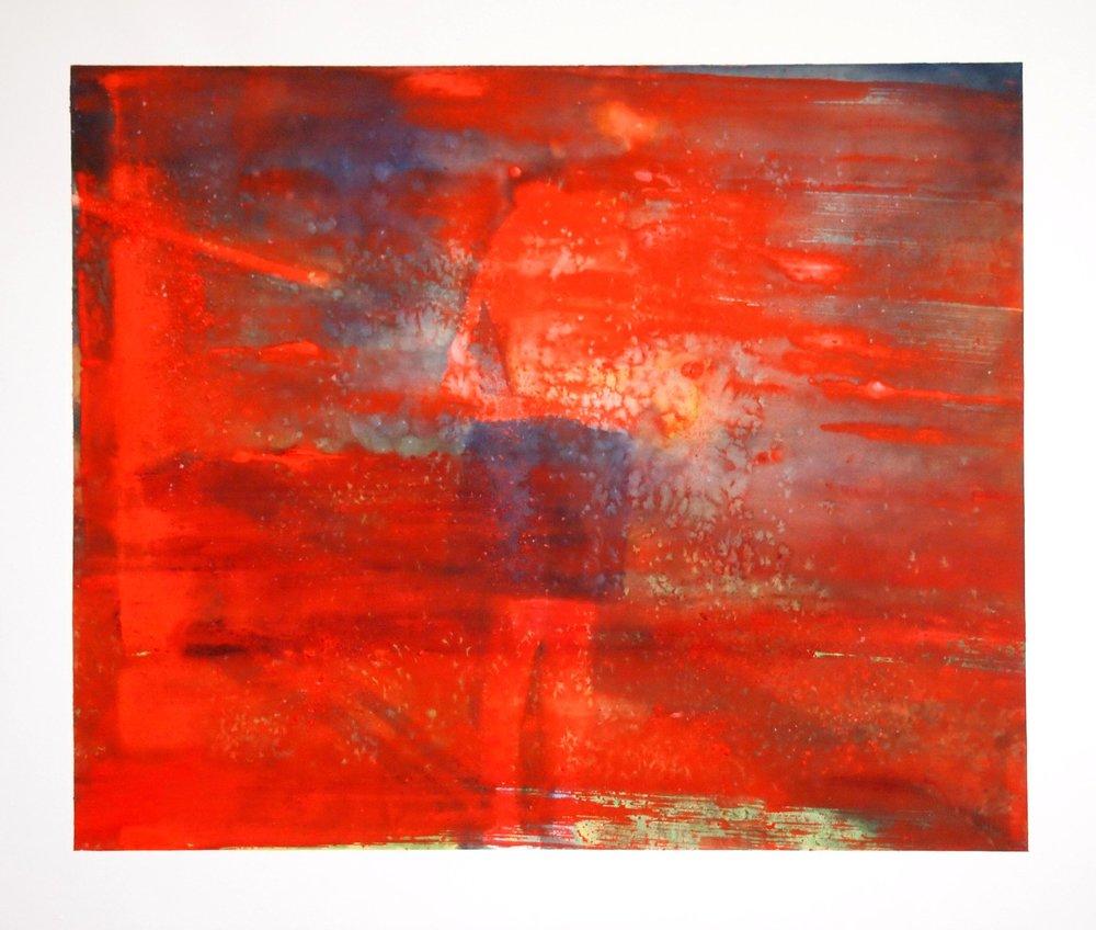 Jim. 2017. Watercolour & Maldon Salt.