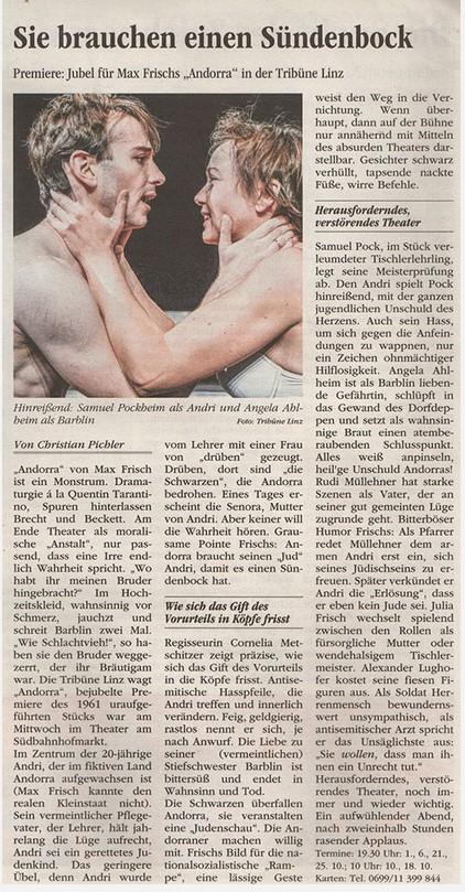 Volksblatt über Andorra