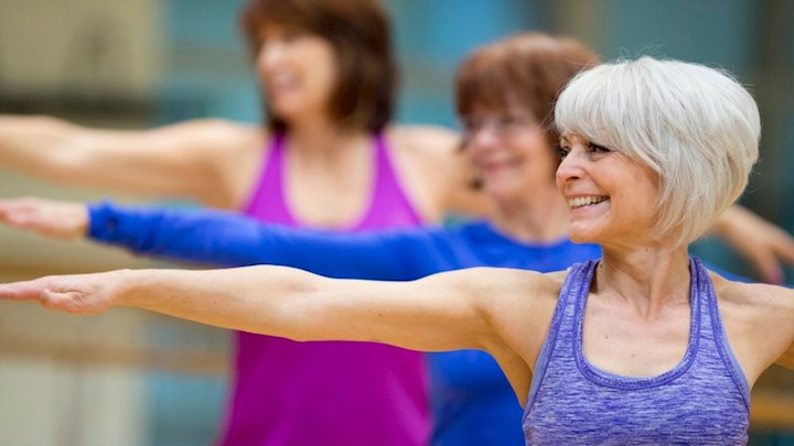 Active Aging - Great beginner class, low impact class using light weights for weight bearing exercises. All focussed on increasing mobility and easing daily living. Great class for obese participants or anyone with past injury or physical limitations.