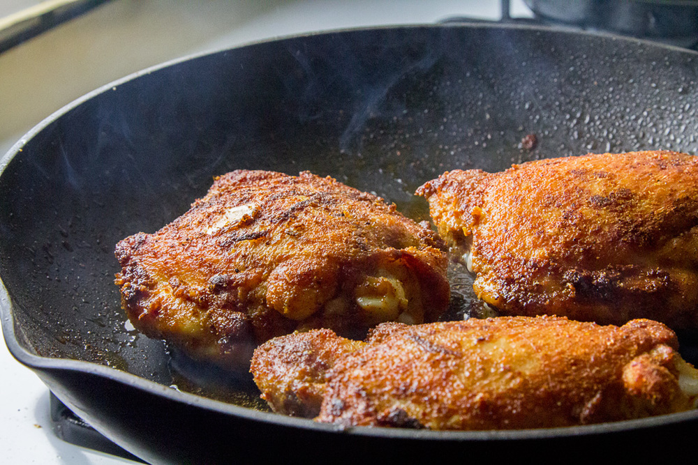 Roast Spiced Chicken—Yawm!