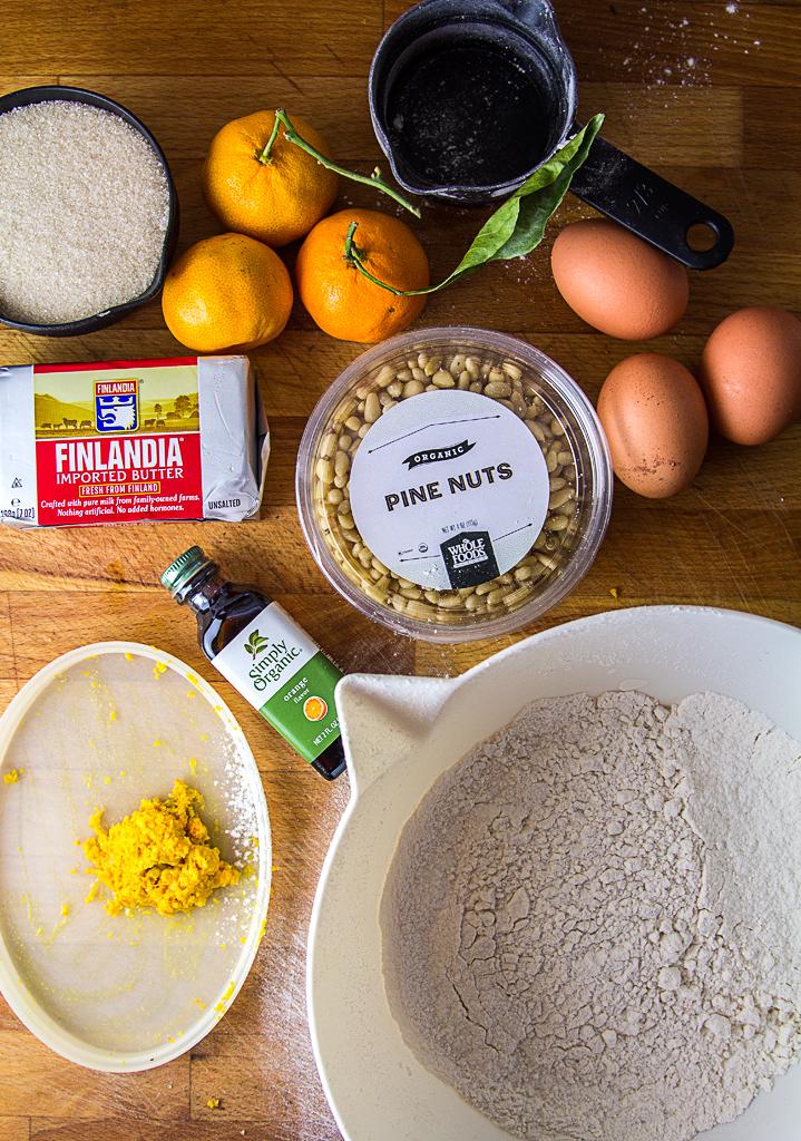 Satsuma Torta Ingredients