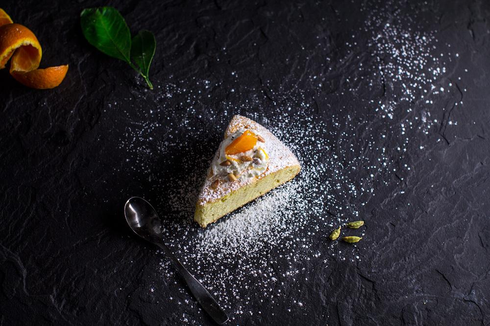 Satsuma Orange Cardamom Tea Cake