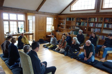 Zendo in High Meadow Farm Freedom, NH