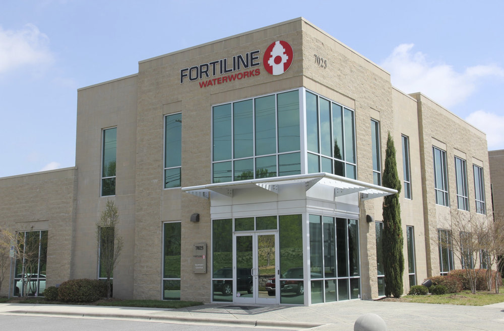 Fortiline Waterworks Corporate HQ in Concord Airport Business Park
