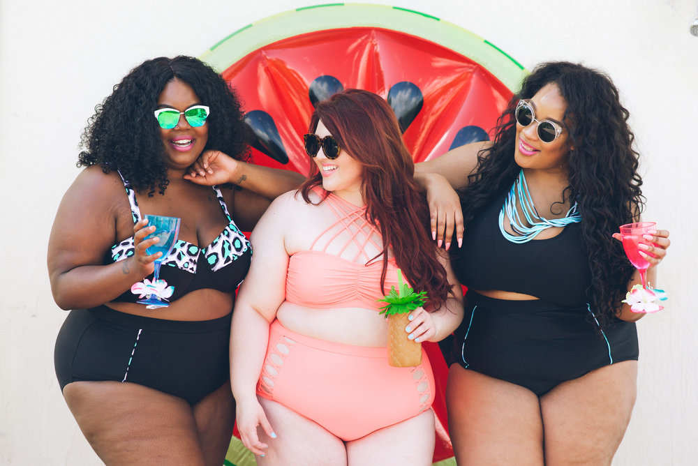 ae96ad115b Bloggers  Body Positive Pool Party — Christine Michelle Photography