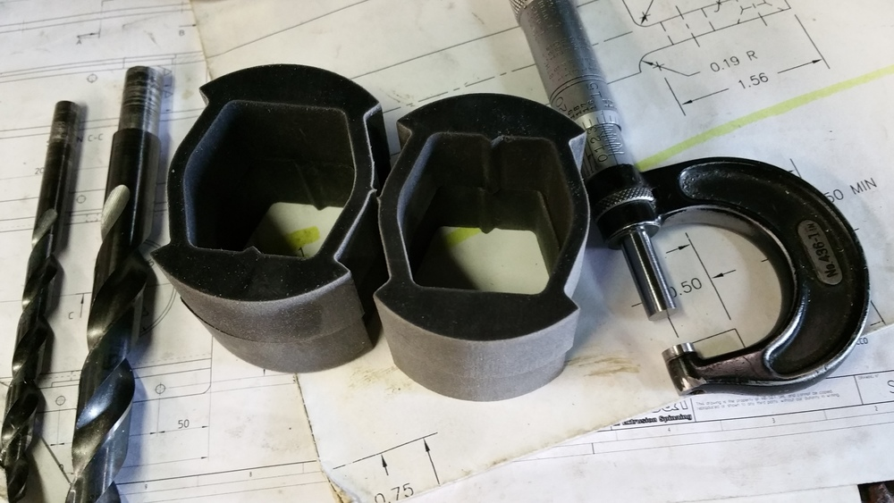 These are the JPSS 2010 to 2015 5th Gen Camaro Radius / Brake Tension Arm Delrin Billet Bushing Inserts.