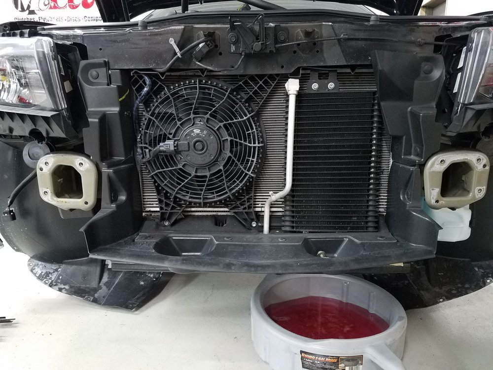 JPSS Camaro Oil Cooler Kit