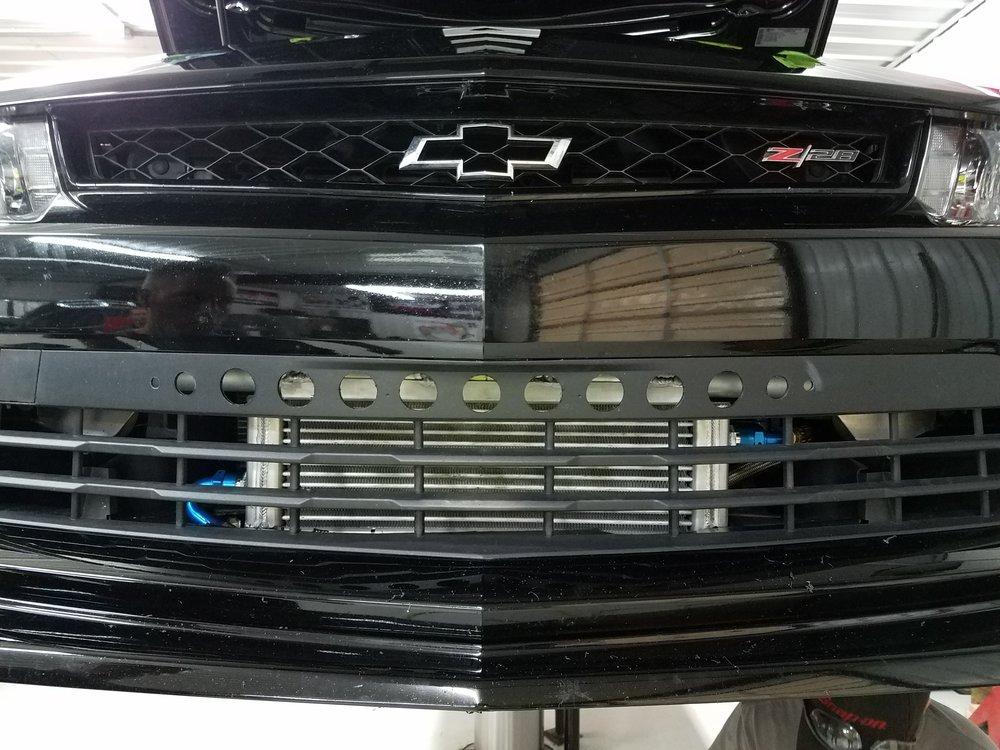 JPSS Camaro Oil Cooler Kit 4