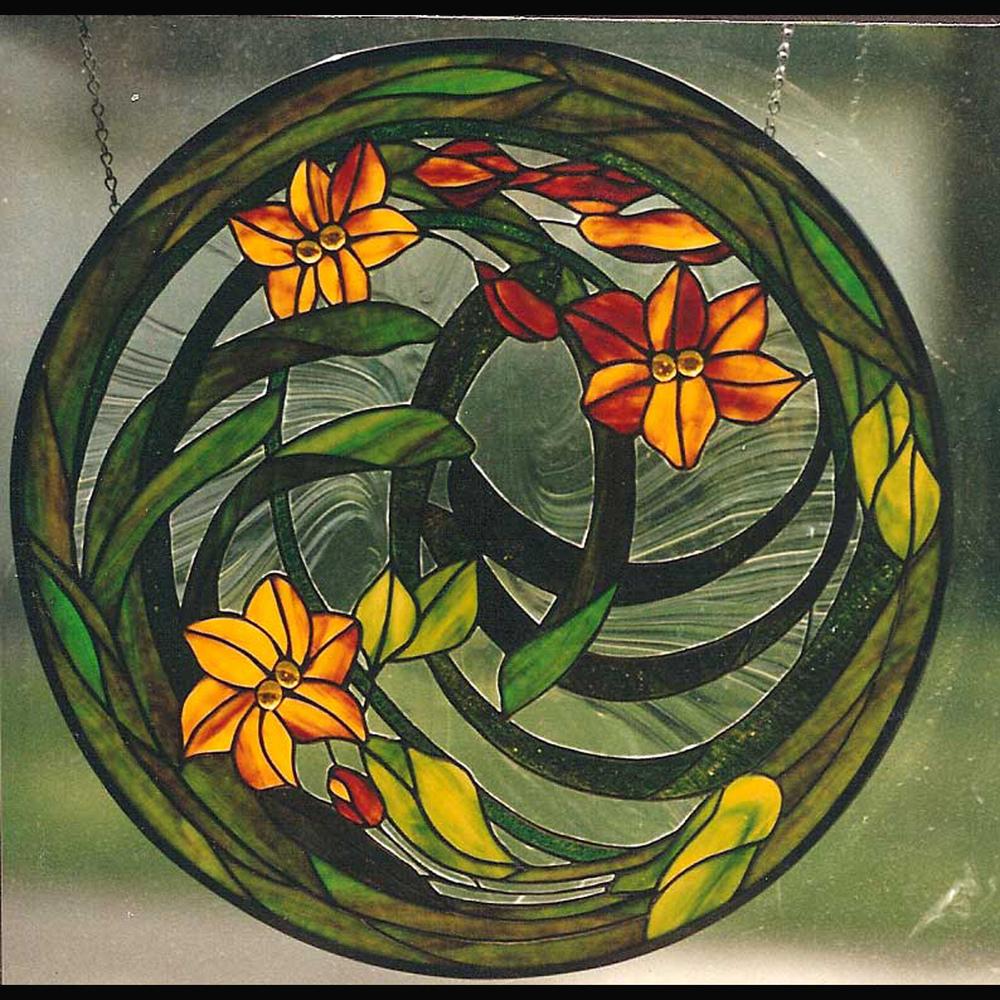 Round Floral  $395