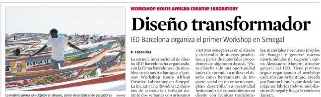 ARTLANTIQUE & IED BARCELONA - 25 OCTOBER 2015