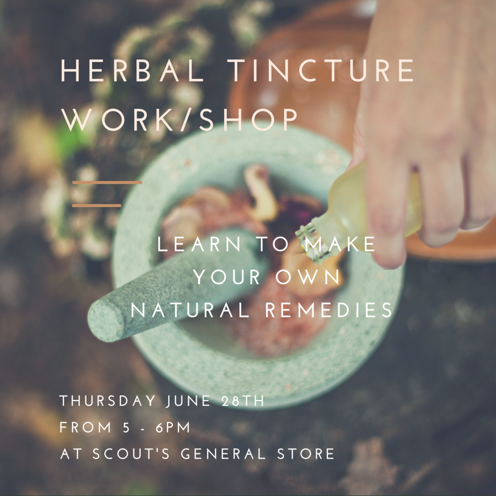 Native Nectar Tincture Workshop