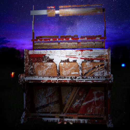 Strawberry Fields Forever psycadellic piano, Knole Park January 31 1967
