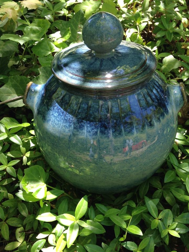 John Watter solo Blue pot among vines.JPG
