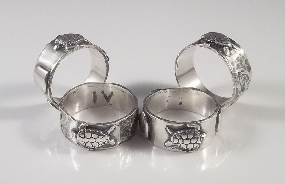 Pem Bryant Turtle Love Silver Rings set.jpg